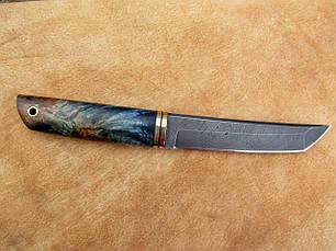 """Нож ручной работы из дамасской стали """"Танто"""", фото 3"""