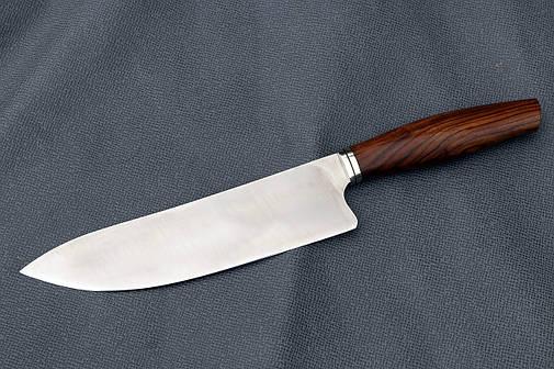 Нож шеф ручной работы из австрийской порошковой стали m390, фото 2