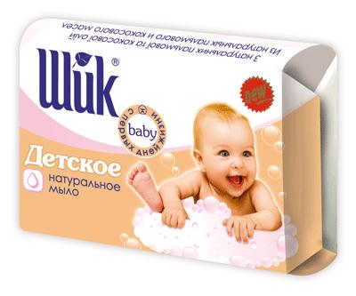 Детское натуральное мыло Шик (70г.)