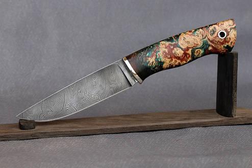"""Нож ручной работы из дамасской стали """"Greenknife"""", фото 2"""
