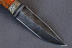 """Авторский нож ручной работы из дамасской стали с двусторонней заточкой  """"Скорпион-1"""", фото 2"""