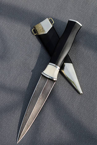 """Нож ручной работы из дамасской стали """"Кинжал"""", фото 2"""