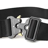 Ремень тактический Assault Belt 120 см, Черный