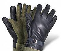 Оригинальные кожаные перчатки армии Бельгии 2в1, фото 1