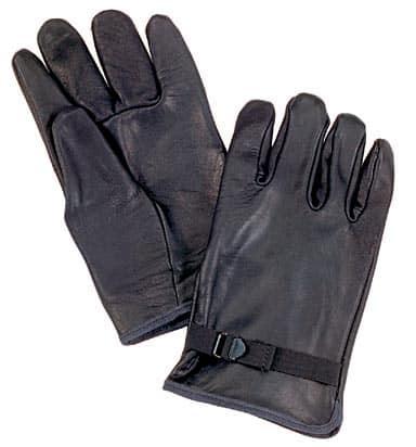 Оригінальні шкіряні рукавички армії Бельгії 2в1