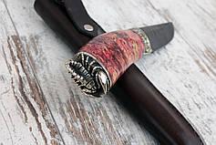 """Нож ручной работы """"Scorpio"""" из дамасской стали, фото 3"""