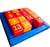 Набор кубиков Пятнашки  TIA-SPORT, фото 1