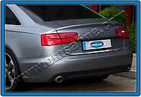 Audi A6 C7 2011+ гг. Кромка багажника (нерж.)