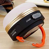 Soshine CB2 - кемпинговый фонарь на 170 люмен со встроенным аккумулятором 1800 mAh + Power Bank.