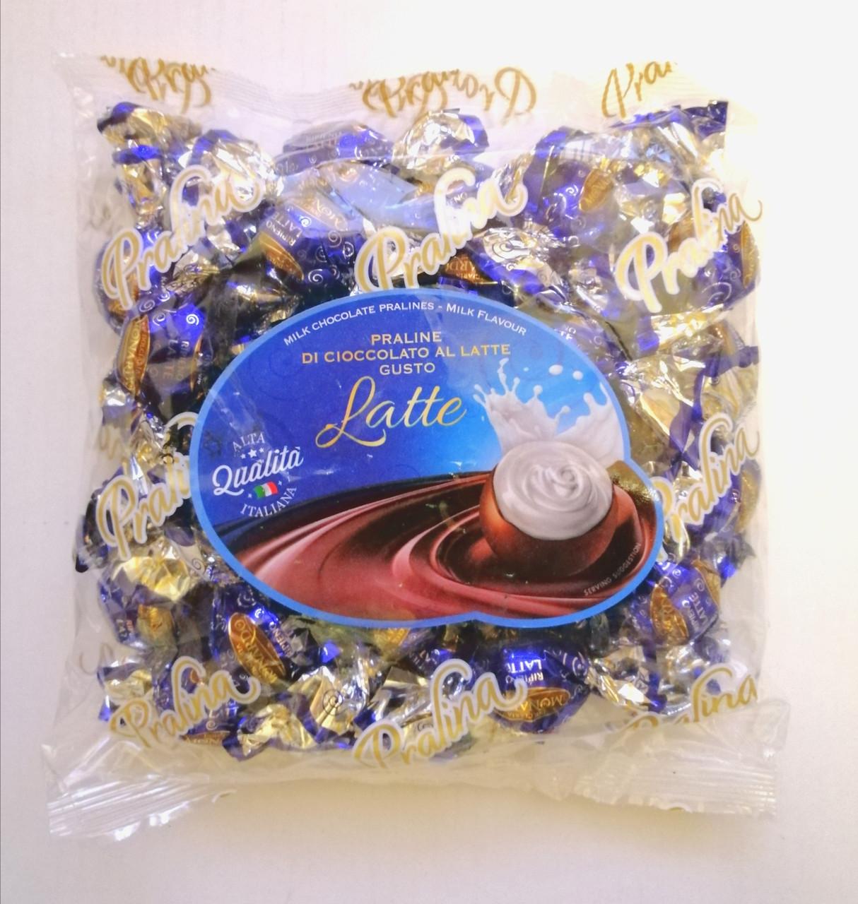 Шоколадные конфеты «Dolciaria Monardo Pralines» с молочным пралине 450 грамм, Италия