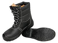 Зимние мужские рабочие берцы с металлическим носком, URGENT товар сертифицирован