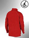 Мужской весенний анорак (ветровка) Jordan красный1, фото 4