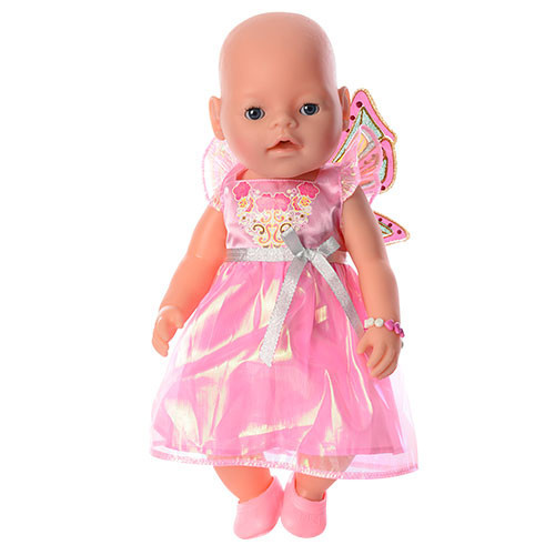Пупс BABY 8020-460-S-UA Розовый (8020-460)