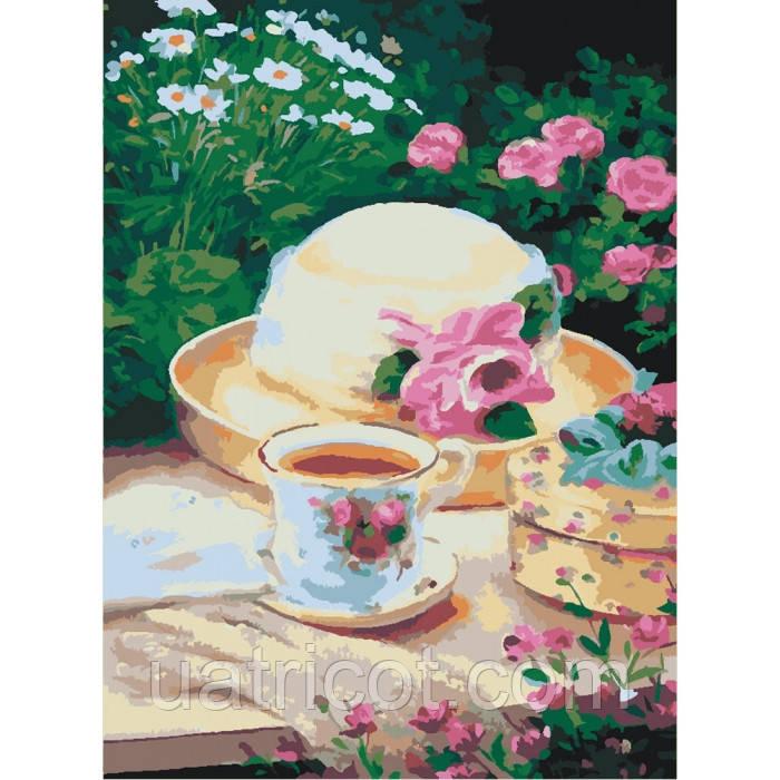 Картина по номерам Идейка 30х40 см Пикник в саду (KHO2206)