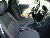 Kia Carens Авточехлы из экокожи Premium