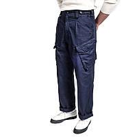 Оригинальные брюки синие Navy Lightweight Великобритания б/у, фото 1