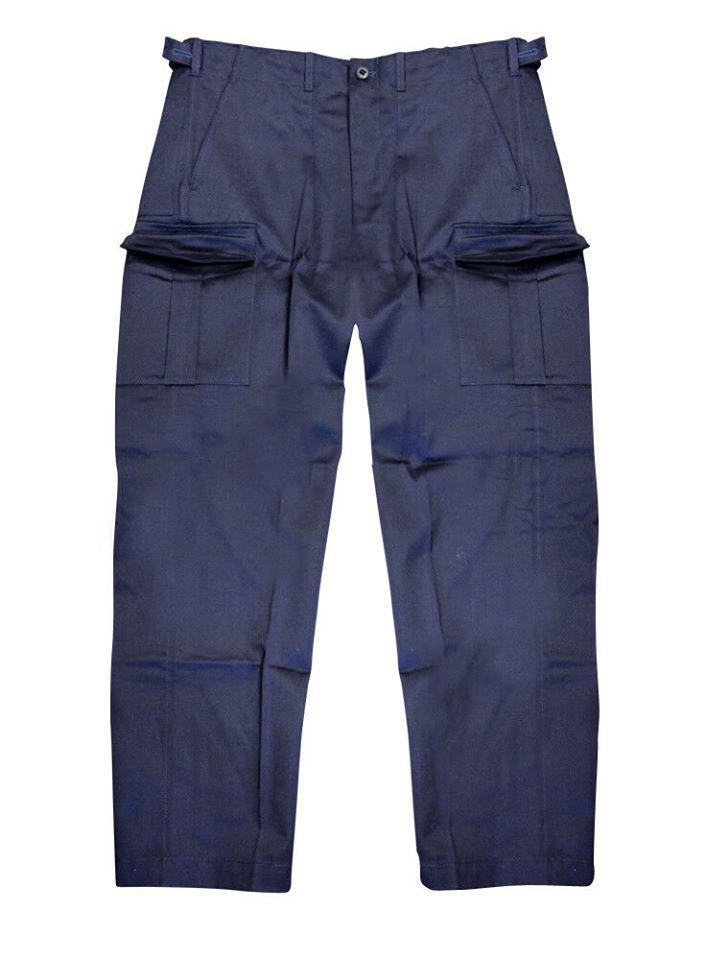 Оригинальные брюки синие Navy Fireman Windproof Великобритания новые