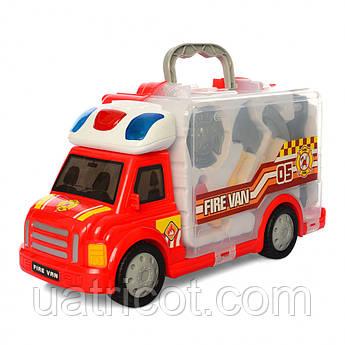 Машинка BOHUI 661-175 Набор пожарника