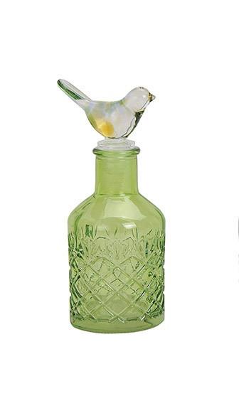 Стеклянная бутылка с крышкой  цена за 1шт.