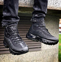 Мужские кроссовки Nike Air Max 95 Sneakerboot Black, фото 2