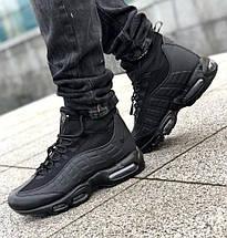 Мужские кроссовки Nike Air Max 95 Sneakerboot Black, фото 3