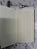 Блокнот-алфавитка  WB-6469  (48k 90л.) черный, фото 3