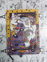 Блокнот записная книжка твердая обложка клетка 80034 формат А5 + конверт