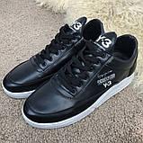 Adidas Y-3 Bashyo Sneakers Black/White ум, фото 2