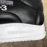 Adidas Y-3 Bashyo Sneakers Black/White ум, фото 4