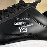 Adidas Y-3 Bashyo Sneakers Black/White ум, фото 5