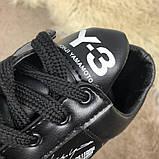 Adidas Y-3 Bashyo Sneakers Black/White ум, фото 6