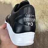 Adidas Y-3 Bashyo Sneakers Black/White ум, фото 8