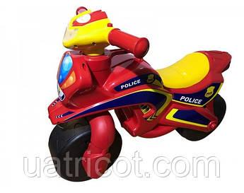 Мотоцикл Doloni Toys полиция Красный (0138/560)