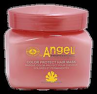 """Маска для волос Color Protect """"Защита цвета"""" Angel Professional 500ml"""