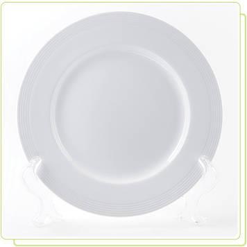 "Тарілка Maestro MR-10001-02 21см""White Linen"""