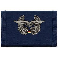 Бумажник «Бундесвер» синий с эмблемой «военно-воздушные силы» MFH