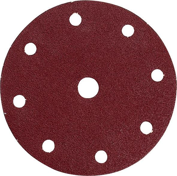 Набор шлифовальной бумаги на липучке 150 мм К400 9 отверстий (50 шт.) Makita (P-32677)