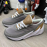 Adidas Sharks Brown Grey White ум, фото 3