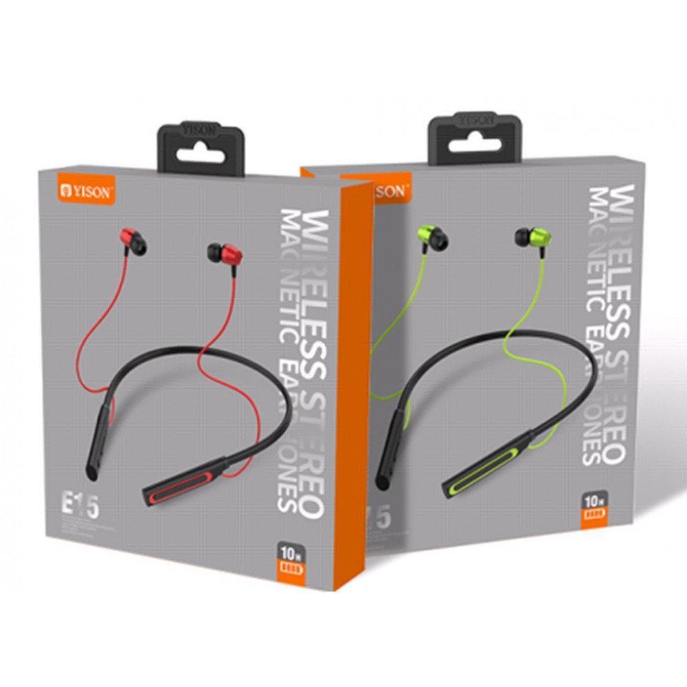 Беспроводные наушники гарнитура Yison E15 | Super bass