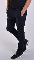 Утепленные мужские спортивные штаны Nike (Найк) / Трикотаж трехнитка с начесом / Размеры:46-52 - темно-синие