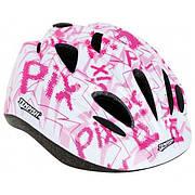 Шлем детский Pix Tempish, розовый, размер S (49-53)