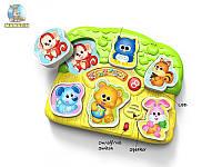 Игра-головоломка музыкальная пазлы животные