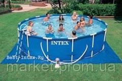 ЛКаркасный бассейн Intex 56949 Metal Frame Pool (457х107 см. )