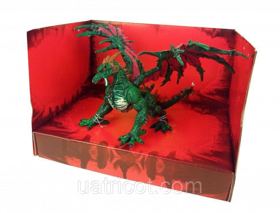 Животное резиновое Lapis Q9899-59 Дракон Зеленый