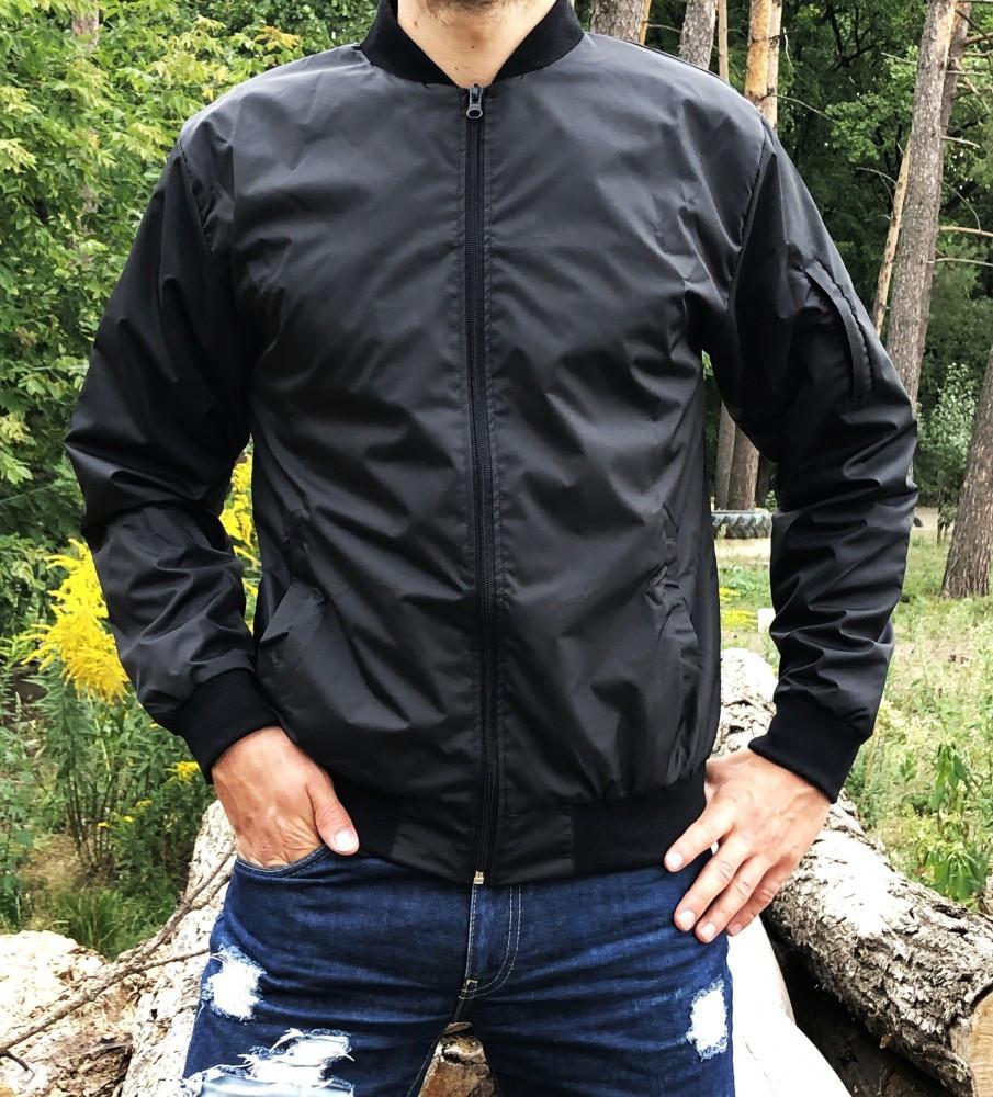 Мужской весенний бомбер/куртка Miracle classic черный1