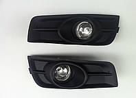Chevrolet Cruze 2009+ гг. Противотуманки (галогенные, 2 шт.)
