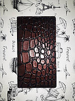 Блокнот-алфавитка  Brisk коричневый цвет  56644
