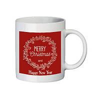 "Чашка с принтом ""Merry Christmas"""