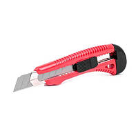 Нож прорезной усиленный с отломным лезвием INTERTOOL HT-0501
