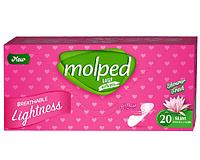"""Щоденні прокладки Molped """"Лотос"""" (20шт.)"""